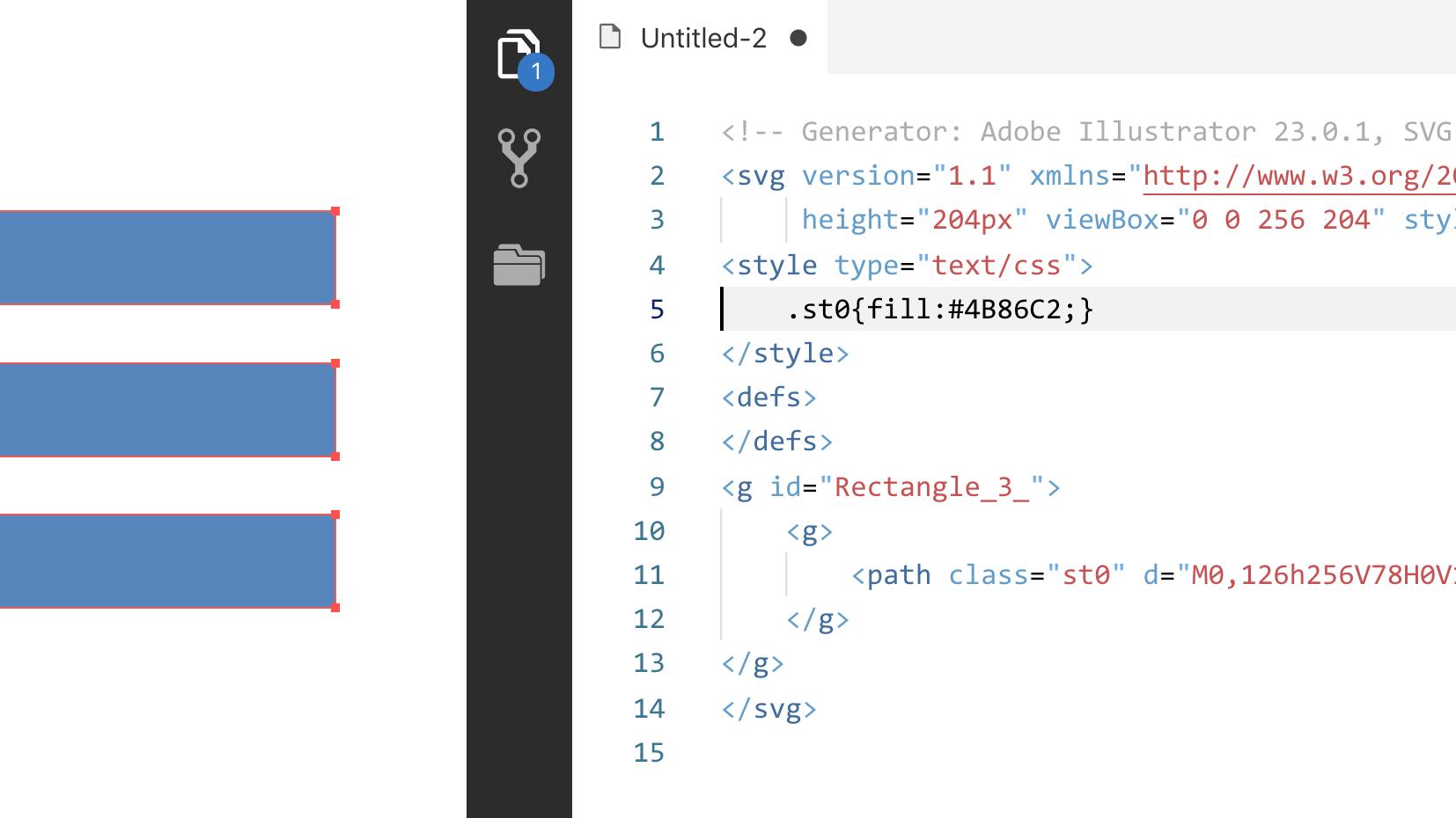 Illustrator: Копирование кода