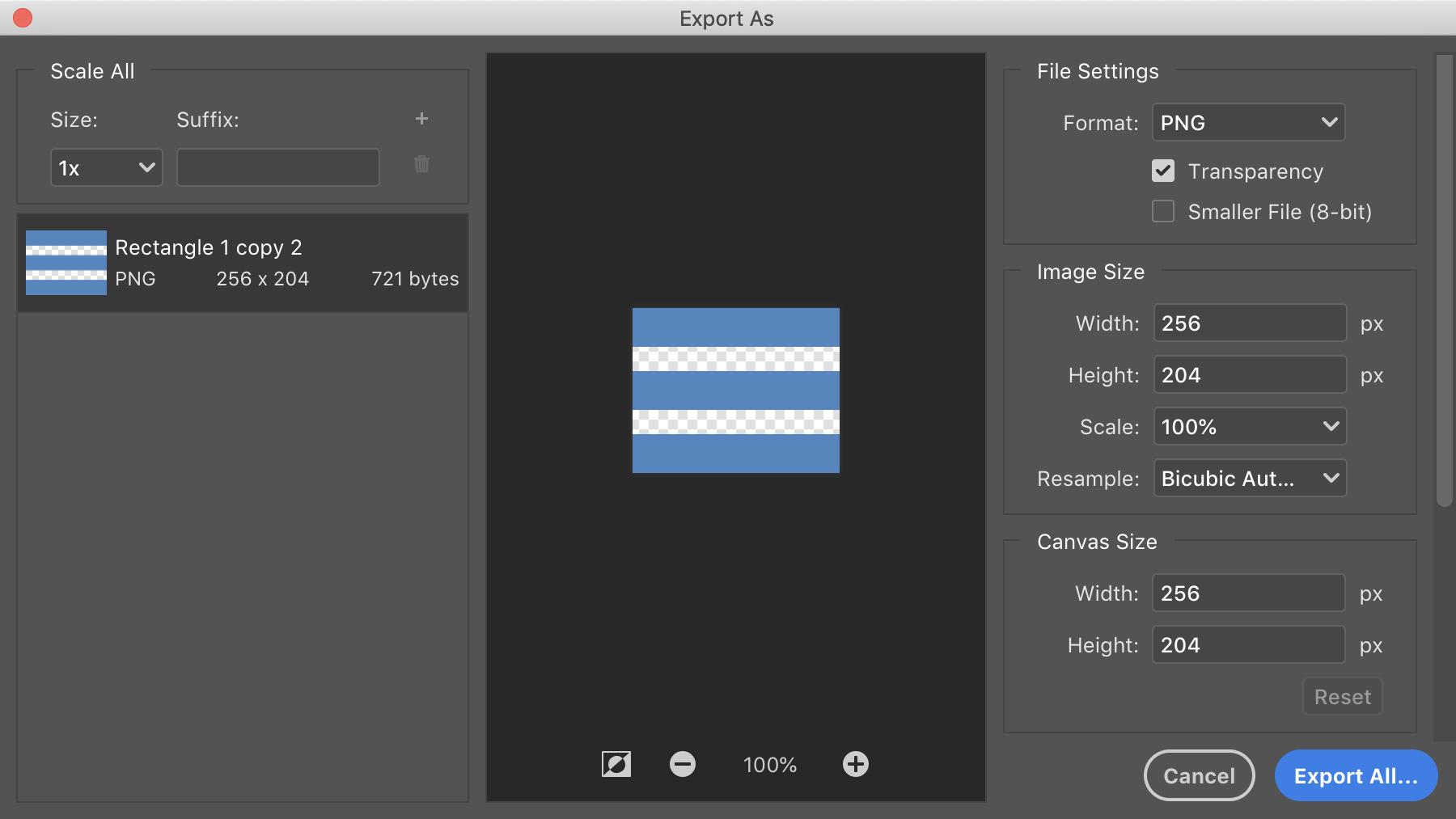 Photoshop: Экспорт слоя